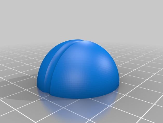 圆极化天线 外壳 3D打印模型渲染图