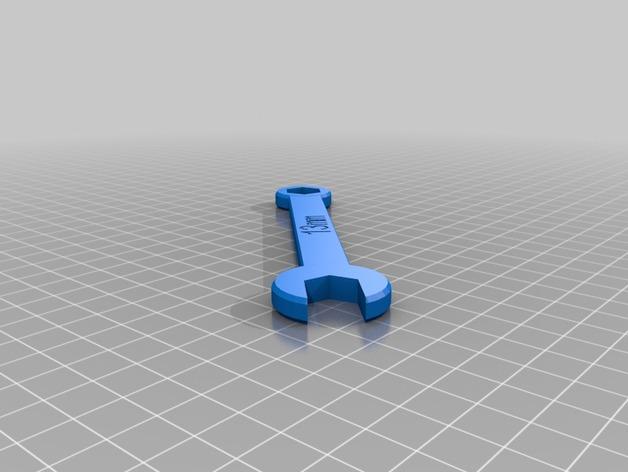 定制化扳手 3D打印模型渲染图