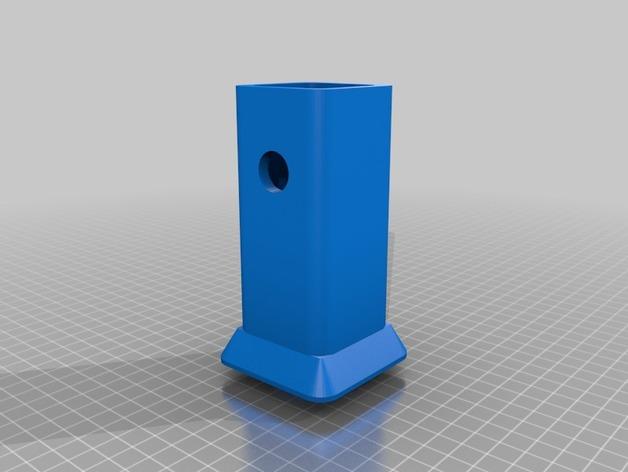 XLR拖车挂接装置 保护套 3D打印模型渲染图