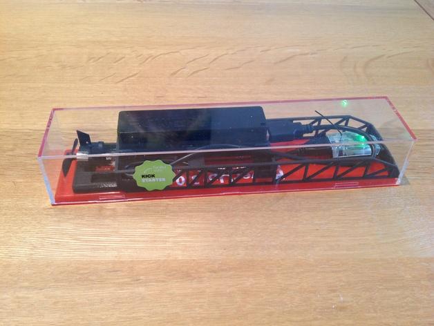PowerUp 3.0遥控纸飞机电源和数据线装置