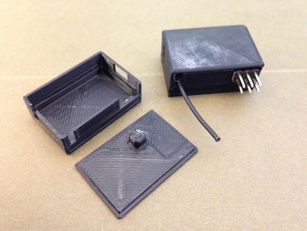 RX PPM接收机外壳 3D打印模型渲染图