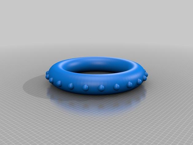 罗丹线圈  3D打印模型渲染图