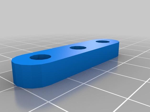牵绳 张紧器  3D打印模型渲染图