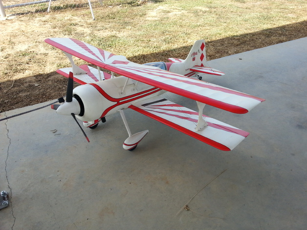 机翼支架 3D打印模型渲染图