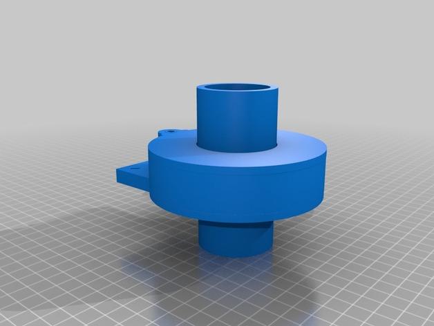 Nemma 17步进电机 双接头  3D打印模型渲染图