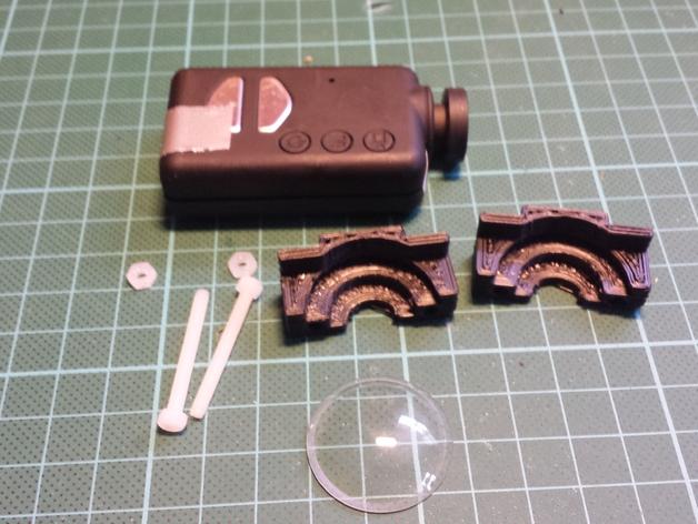 Mobius相机镜头保护架