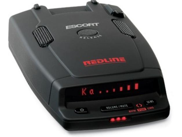 Escort雷达检测器 3D打印模型渲染图