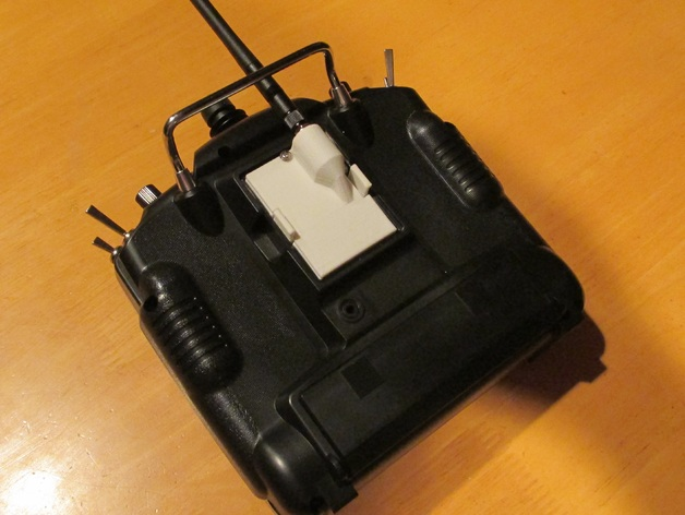 JR-DSMX发射机外壳 3D打印模型渲染图