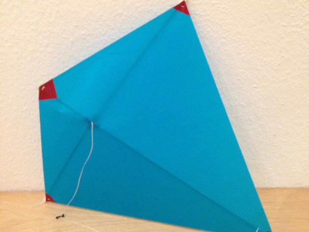 菱形风筝 中心连接器 3D打印模型渲染图