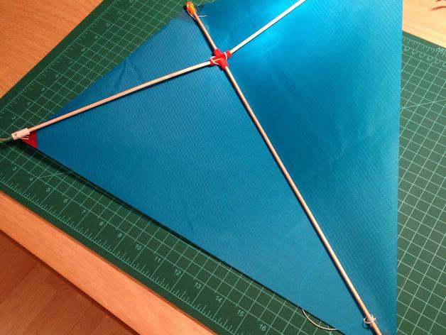 菱形风筝 中心连接器