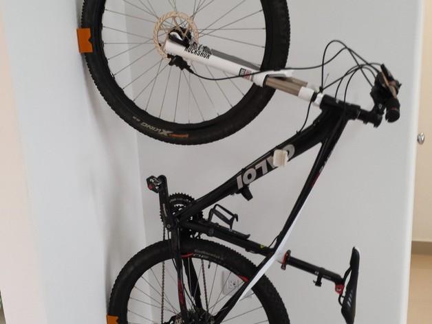 MTB山地自行车 支架 3D打印模型渲染图