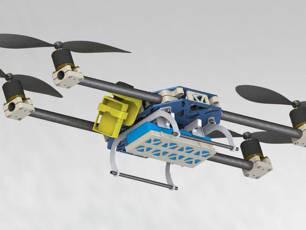 四轴飞行器框架
