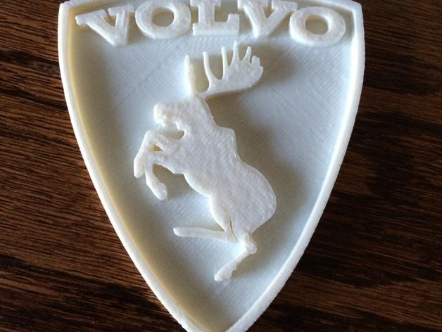 沃尔沃 Prancing Moose汽车标志