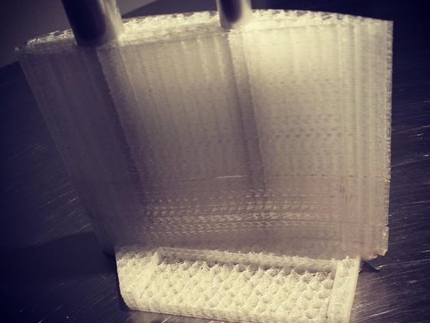 风力涡轮机叶片 3D打印模型渲染图