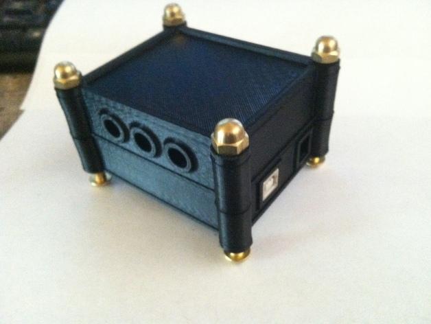 模块化Arduino Uno外壳 3D打印模型渲染图