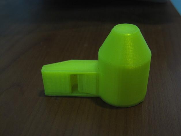 哨子 口哨 3D打印模型渲染图
