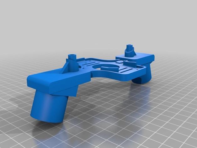 起落架 3D打印模型渲染图