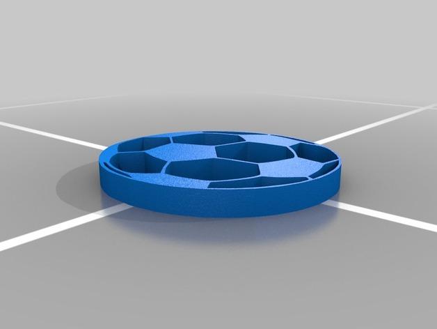 足球 杯托 3D打印模型渲染图
