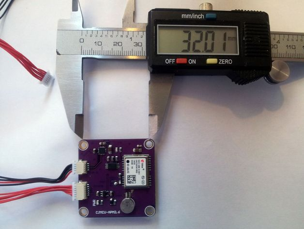 APM 2.6 GPS模块外壳
