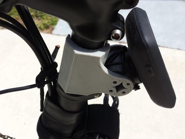 自行车 车座安装架