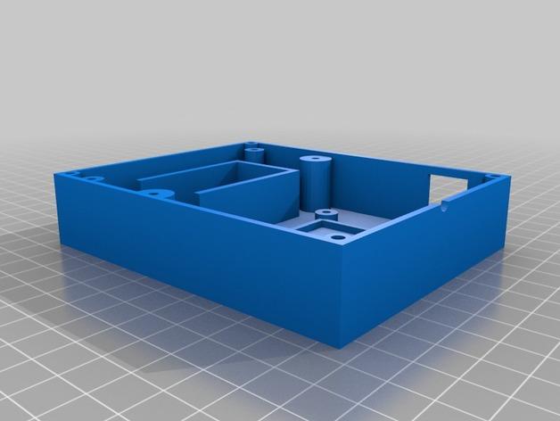 Arduino Uno电路板 面板 3D打印模型渲染图