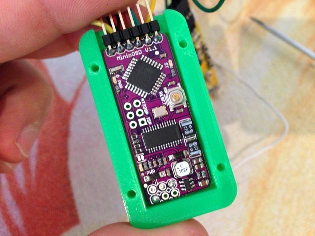 MinimOSD电路板外壳