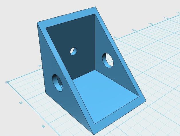 遥控飞机 马达架 3D打印模型渲染图