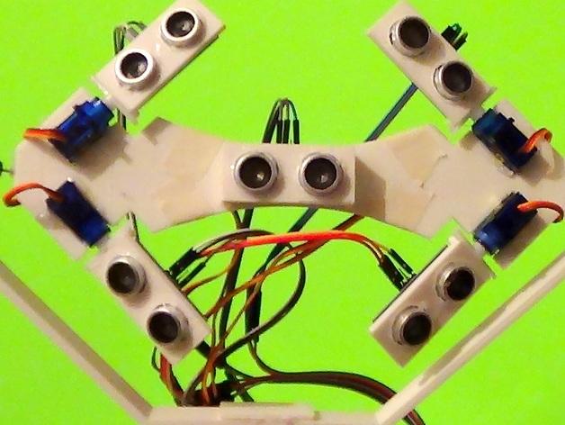 个性化机器人 3D打印模型渲染图