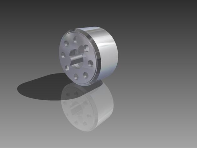 位置传感器零部件 3D打印模型渲染图