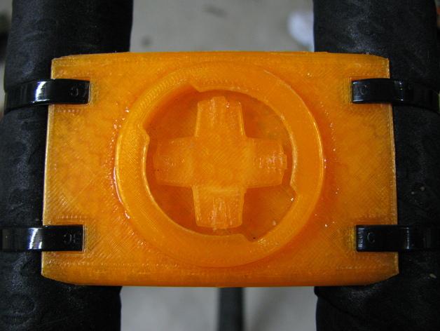 Garmin Edge自行车码表安装支架 3D打印模型渲染图