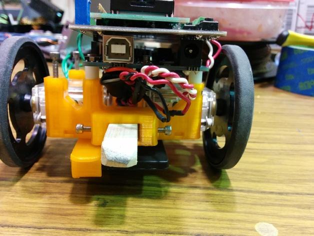机器人探测器安装支架