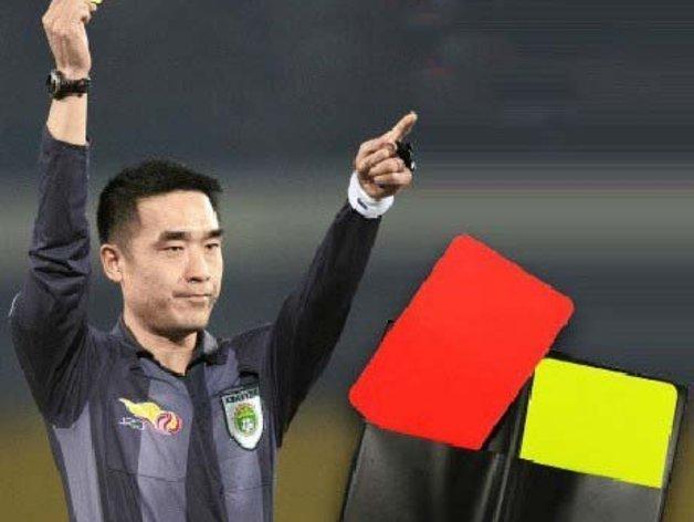足球裁判卡