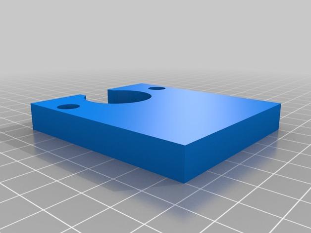 小号 号嘴拔出器  3D打印模型渲染图