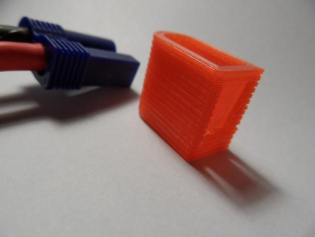 EC5连接头 帽盖 3D打印模型渲染图