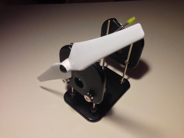螺旋桨平衡装置 3D打印模型渲染图