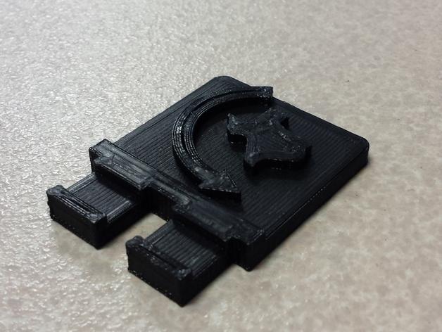 FRC电池盖 3D打印模型渲染图