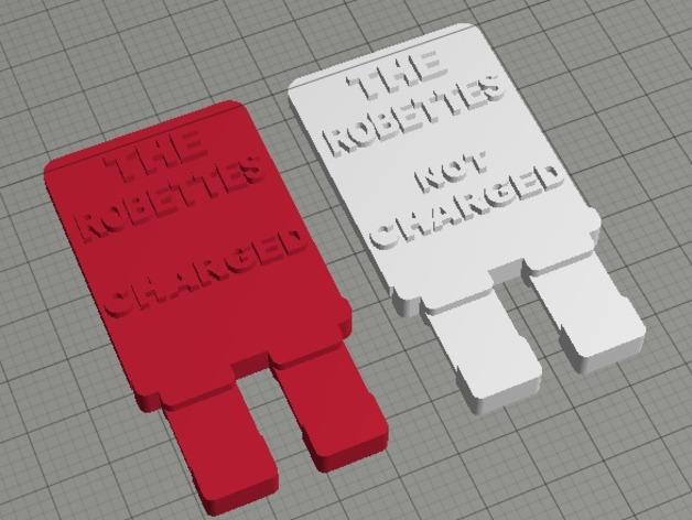 FRC电源接头 3D打印模型渲染图