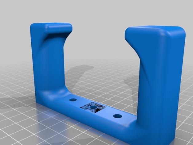 吉他 支架 3D打印模型渲染图