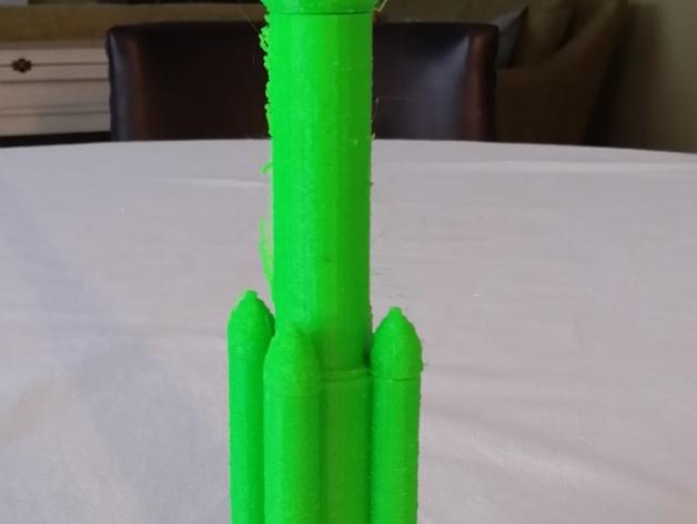 阿丽亚娜系列运载火箭  3D打印模型渲染图