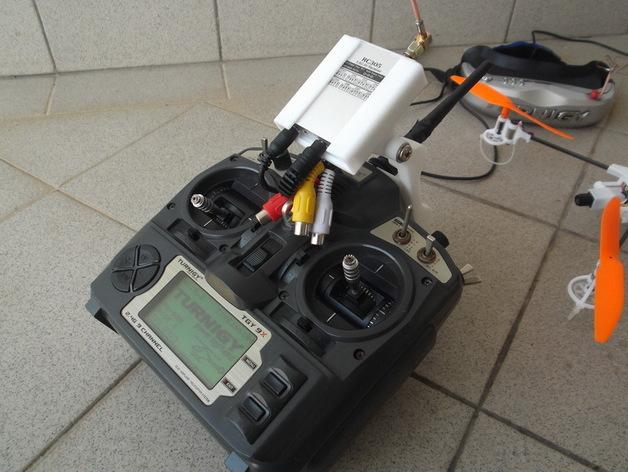 Turnigy 9X无线电发射机  3D打印模型渲染图