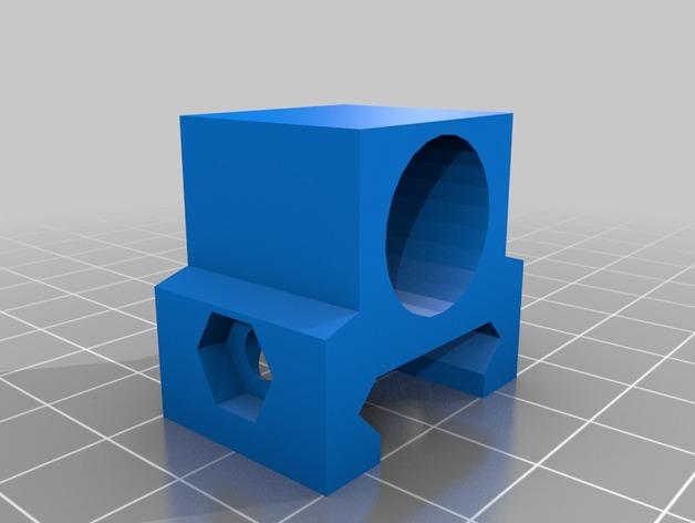 闪光灯架  3D打印模型渲染图