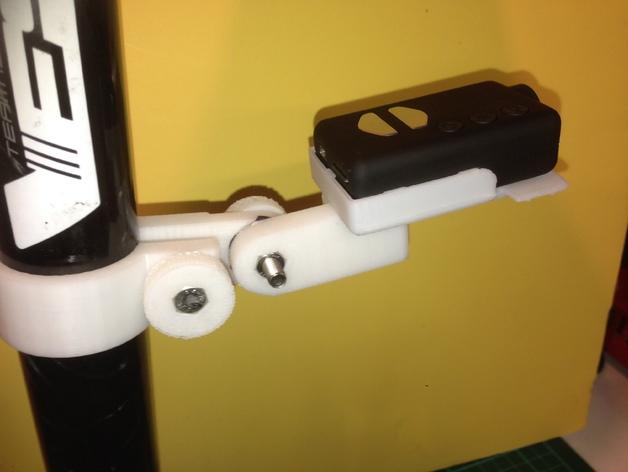自行车座杆支架