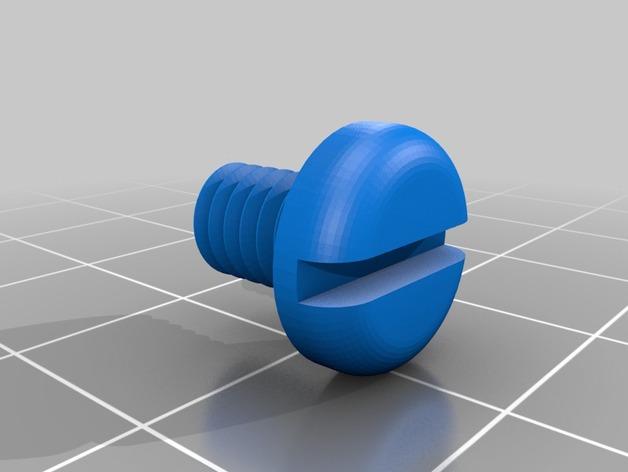 螺母和螺栓  3D打印模型渲染图