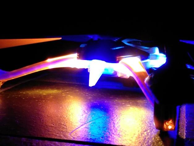 LED扩散器 3D打印模型渲染图