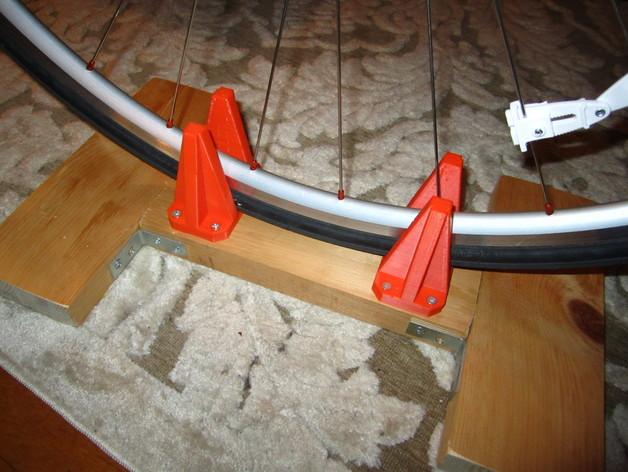 骑行台 前轮支架