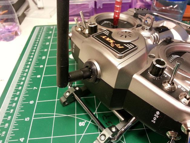 可拆卸天线配适器 3D打印模型渲染图