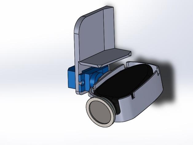 无人机 单轴相机常平架