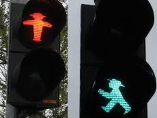 德国柏林城市路标