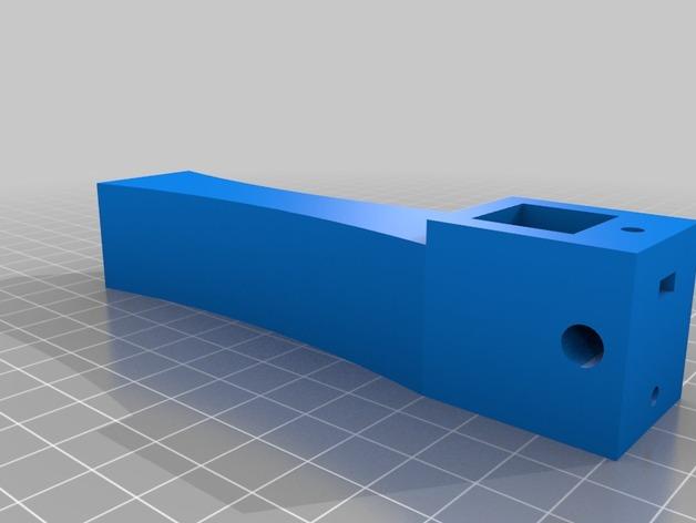 天线导向器支架 3D打印模型渲染图