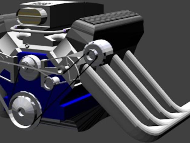 302引擎 3D打印模型渲染图